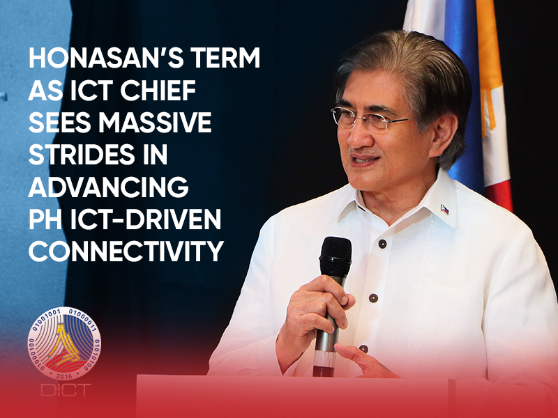 Honasan's term as ICT chief sees massive strides in advancing PH ICT-driven connectivity